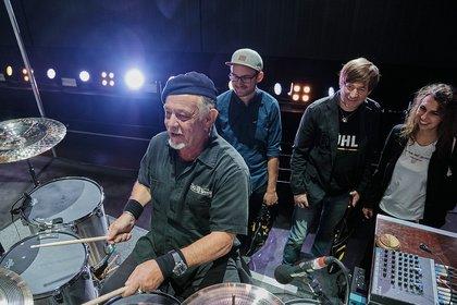 Treffen mit dem Vorbild - Backstage bei Herbert Grönemeyer: So lief das Zildjian Meet & Greet mit Armin Rühl