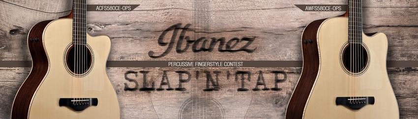 Slap'n'Tap! Jonas Pütz und Robert Graefe gewinnen Ibanez-Gitarren aus der Percussive Fingerstyle Collection