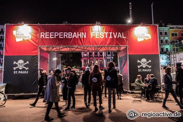 Herbstlich - Impressionen vom Donnerstag beim Reeperbahn Festival 2019 in Hamburg