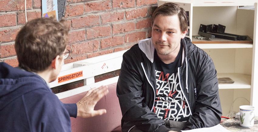 Hannes Wittmer im Gespräch mit Backstage PRO-Autor Ole Löding
