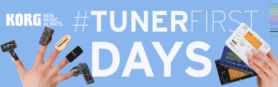 KORG #TUNERFIRST Days – gewinne das Stimmgerät deiner Wahl!
