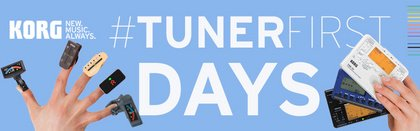 Jetzt wird gestimmt! - KORG #TUNERFIRST Days – gewinne das Stimmgerät deiner Wahl!