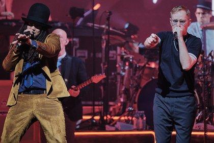 Im Groove - Seeed: Bilder der Comeback-Show live in der SAP Arena Mannheim