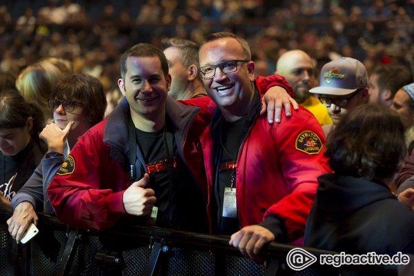 Der Knight Rider live - Impressionen vom David Hasselhoff-Konzert in der Frankfurter Jahrhunderthalle