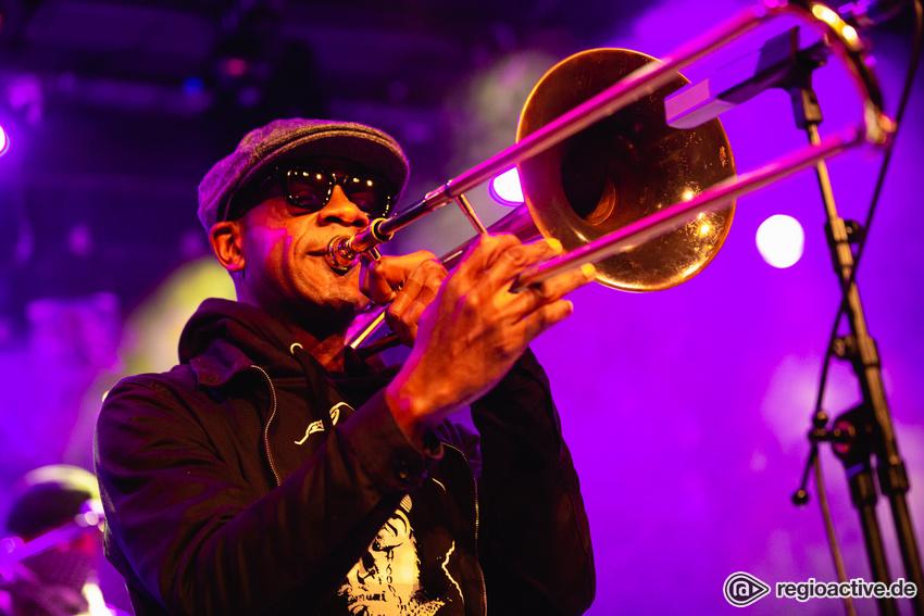 Kreative Frohnatur - Ryan Porter verbreitet positive Stimmung bei Enjoy Jazz 2019 in Mannheim