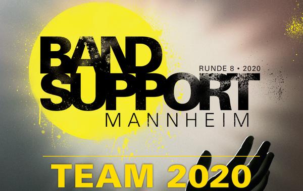 Umfassende Förderung - Der Bandsupport Mannheim erwartet deine Bewerbung für 2020
