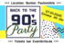 Back to the 90's Party in Düsseldorf, Party, 07.03.2020, Bunker Paulsmühle - Tickets -