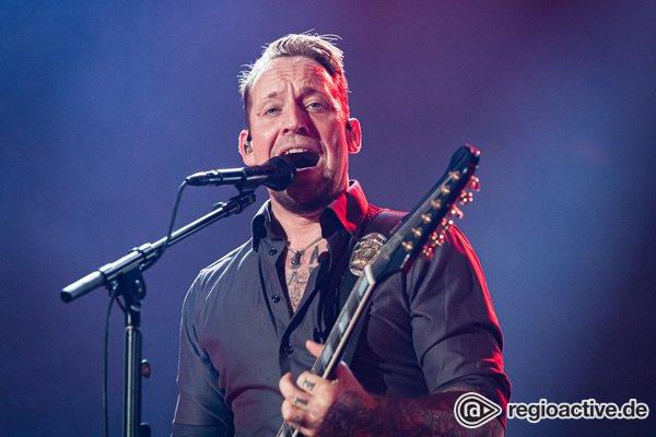 Stürmisch - Volbeat: Fotos der dänischen Rocker live in der Festhalle Frankfurt