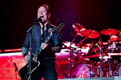 Elvis-Metal larger than life - Volbeat spielen in der Festhalle Frankfurt eine energetische Rock & Metal-Show