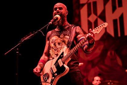 Heftig - Bilder von Baroness live als Opener von Volbeat in Frankfurt