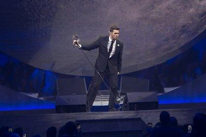 Mit Riesenorchester - Michael Bublé zieht in Mannheim alle Register seiner großartigen Fähigkeiten