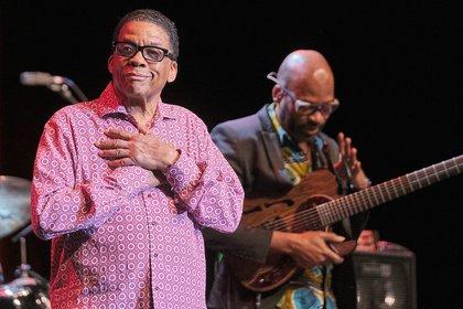 60 Jahre auf der Bühne - Herbie Hancock: Fotos der Jazz-Legende live in Frankfurt