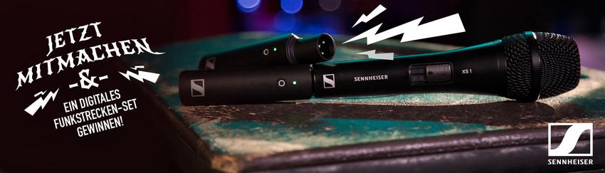 Gewinne eines von zehn digitalen Funkstrecken-Sets von Sennheiser!