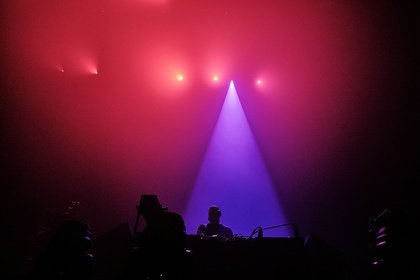 Warm-up - James Holroyd : Fotos des Tour-DJs von The Chemical Brothers live in Frankfurt