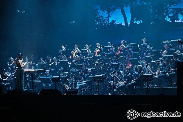 Gewaltig und dramatisch - Fotos des Antwerp Philharmonic Orchestra live bei der Night of the Proms 2019 in Mannheim