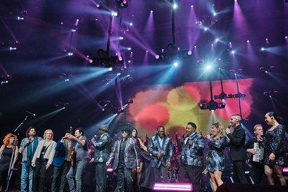 Alle zusammen - Bilder des Finales der Night of the Proms 2019 live in Mannheim