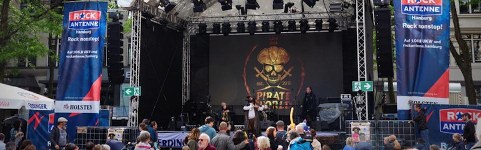 Kieler Woche 2020: Booking für die Pirate World Bühne