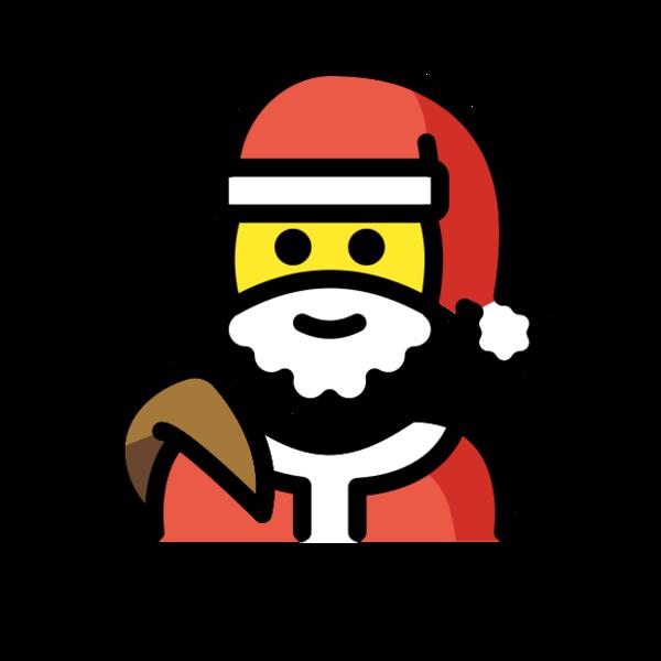 Santa (openmoji, Lisa Thiel, CC)