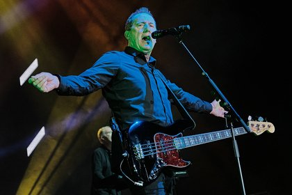 Synthetisch - OMD: Bilder der '40 Years - Greatest Hits'-Tour live in Frankfurt