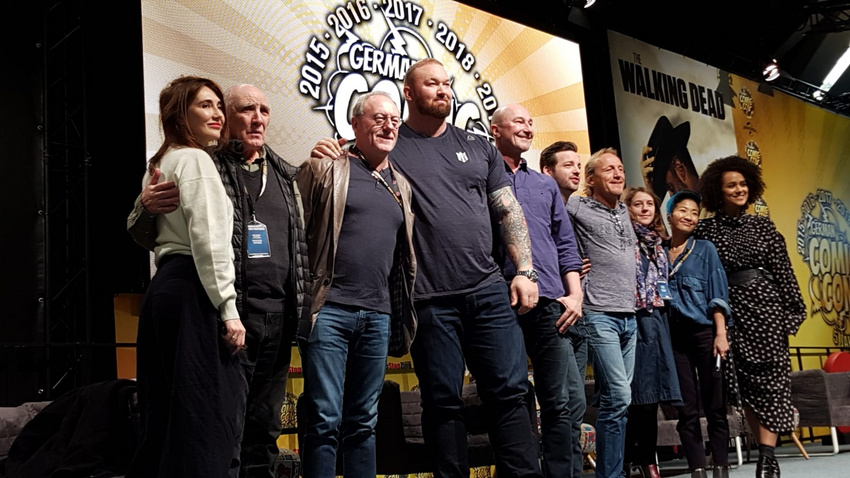"""der Cast von """"Game of Thrones"""" bei der German Comic Con 2019"""
