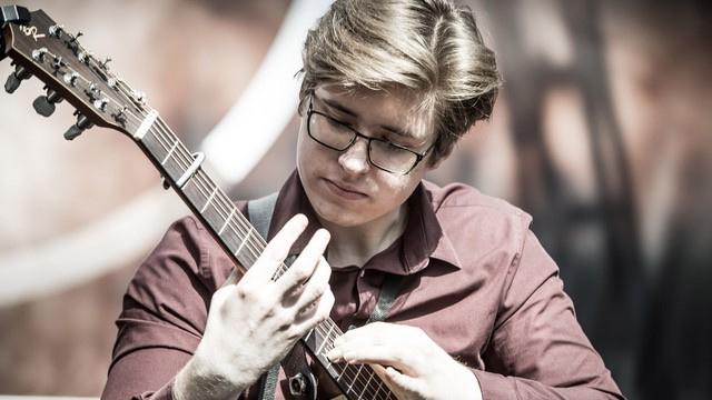 Alexandr Misko auf der Musikmesse 2019