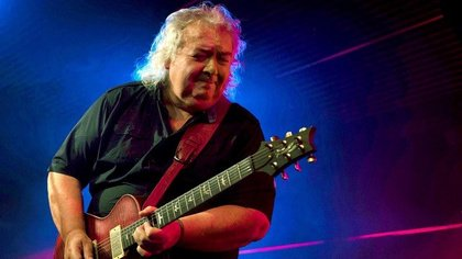 Internationale Top-Stars - Bernie Marsden, Don Airey, Jennifer Batten rocken gemeinsam beim ''Ultimate Jam'' auf der Musikmesse