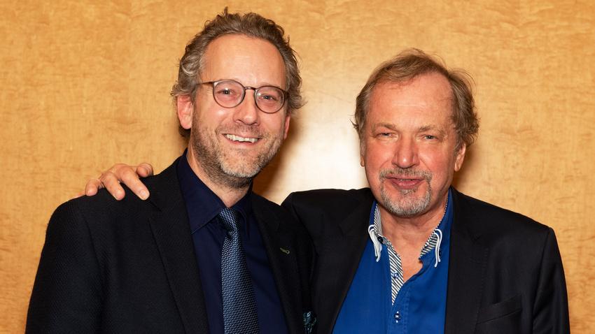 Pascal Funke und Prof. Jens Michow - die beiden Vorsitzenden des BDKV