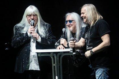 Premiere der Music & Stories Tour - Uriah Heep, Nazareth & Wishbone Ash bringen Geschichte(n) in die Jahrhunderthalle Frankfurt