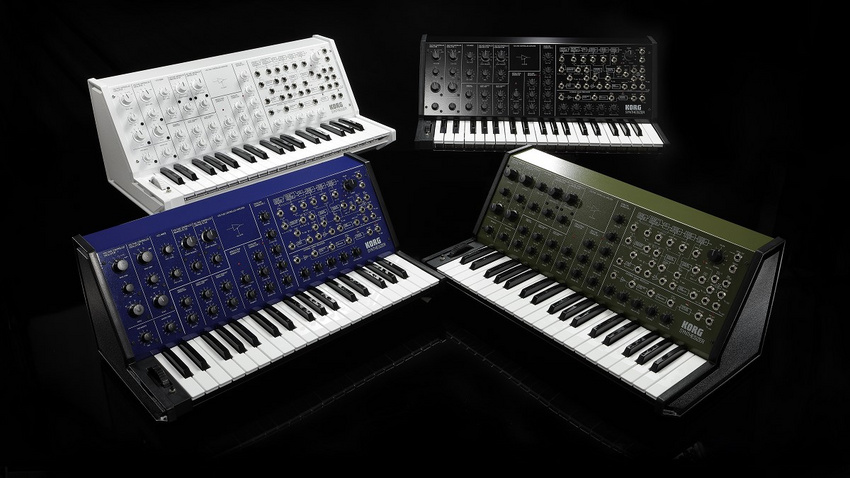 Jetzt wird's bunt: KORG MS-20 FS Limited Editions