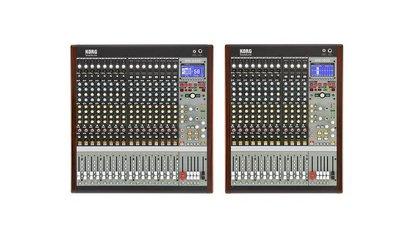 Das Beste aus beiden Welten - Neues von KORG: SoundLink Hybrid-Mixer MW1608 und MW2408