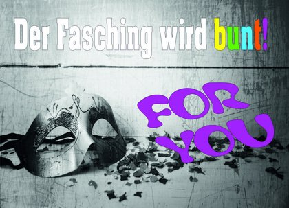 FOR YOU - Der Fasching wird bunt - Mit Gina-Lisa Lohfink