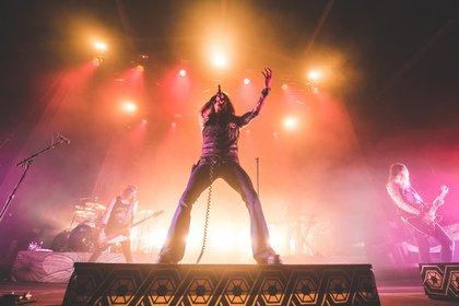 Theatralisch - Fotos von Amorphis als Support von Dimmu Borgir live in Wiesbaden