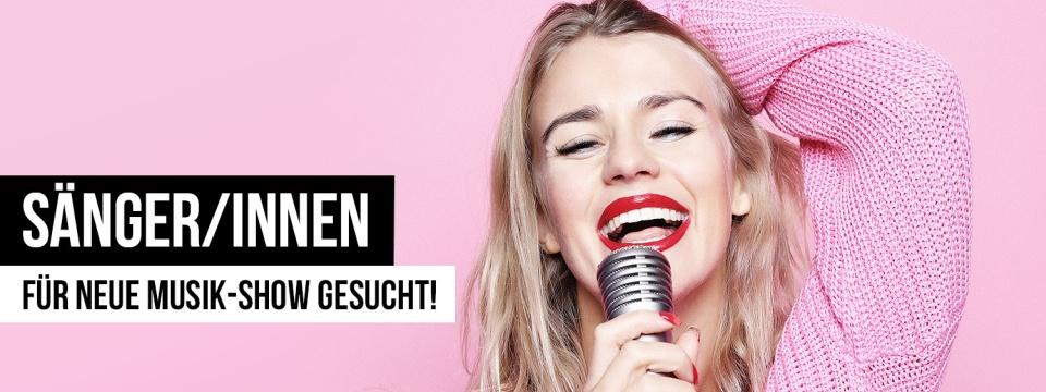 Dein Auftritt vor Millionenpublikum: Sänger/innen für neue TV-Musikshow gesucht!