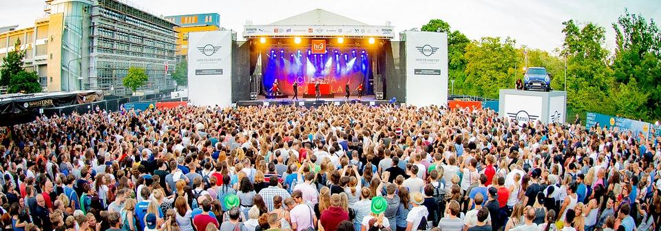 Euer Auftritt auf dem Osthafen-Festival 2020 in Frankfurt am Main