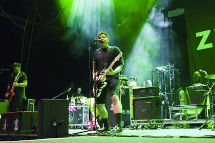 Prima Einstimmung - Seelenverwandt: Zebrahead als Opener von Sum 41 live in Stuttgart