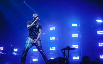 Volle Power - Grime-Rapper Stormzy bringt die Halle 45 in Mainz zum Beben