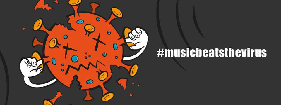 #musicbeatsthevirus: Zeigt, wie euch Musik durch die Krise hilft und stärkt die Community!