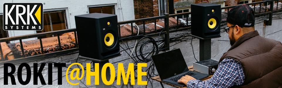 Gewinne KRK ROKIT G4 Studiomonitore für dein Ton- oder Heimstudio