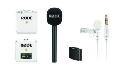 Mini-Funkmikro-System - Neu bei RØDE: Wireless GO White und interessantes Zubehör