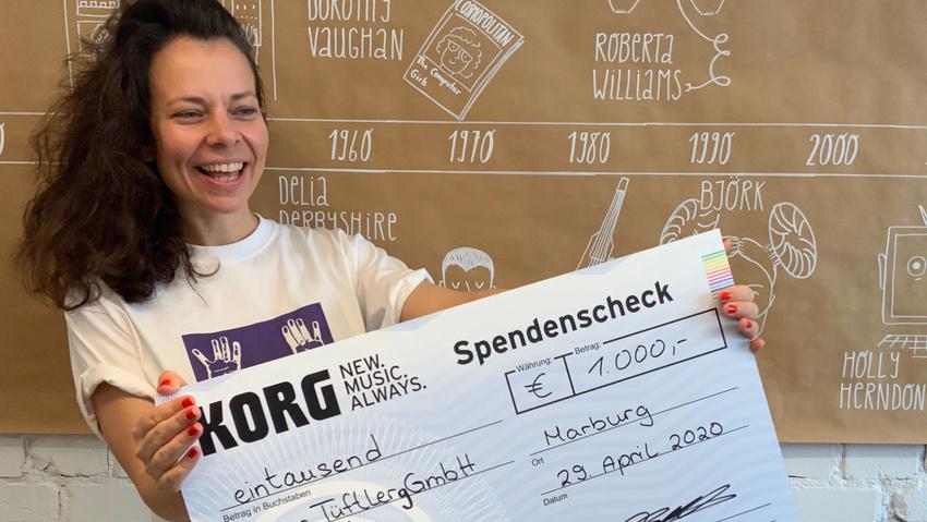 KORG unterstützt Berliner Musikprojekt