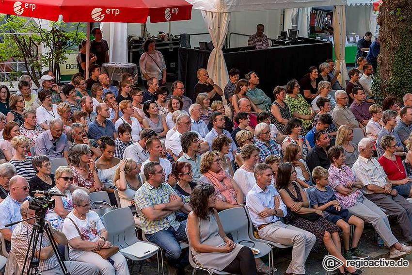 So eng wie beim Da Capo Festival 2019 in Alzey werden Besucher nicht sitzen können, aber Veranstaltungen im Freien werden bald wieder möglich sein.