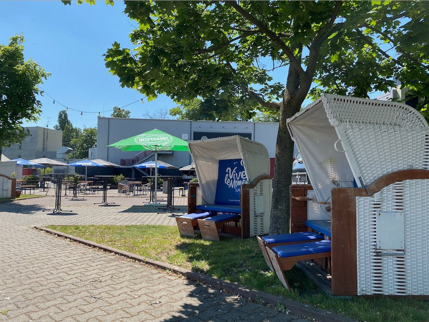Der neue Sommergarten der Batschkapp in Frankfurt