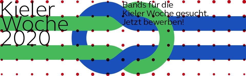 Die Kieler Woche 2020 sucht Bands für besondere Konzerte