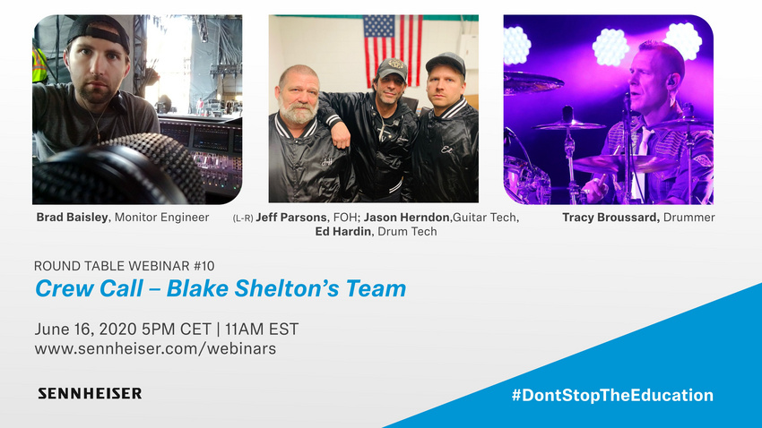 Crew Call - Blake Shelton's Team