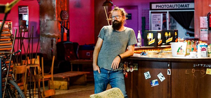 Norbert Schön ist Betreiber des Mainzer Kulturclubs schon schön