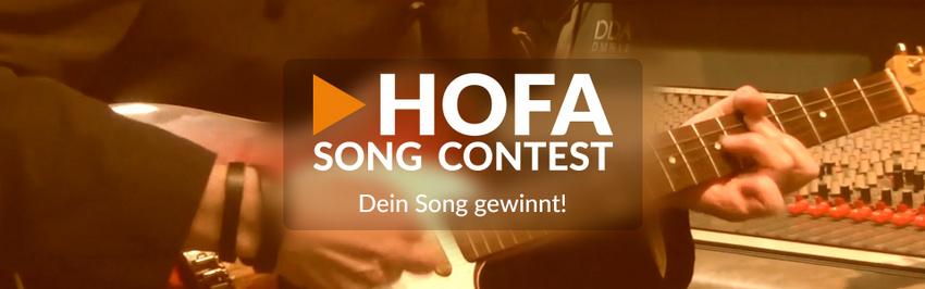 Nimm jetzt am internationalen HOFA SONG CONTEST teil