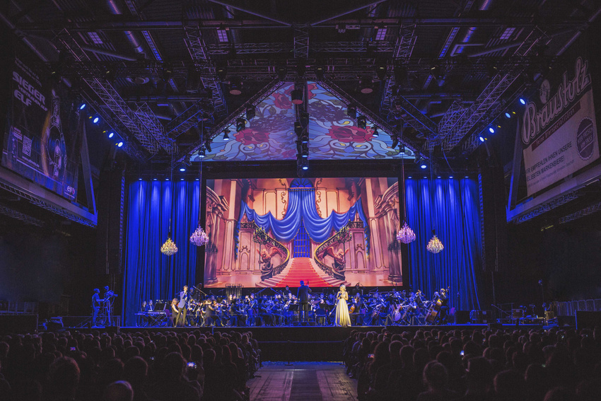 "Die ""Dreams Come True""-Show der Disney in Concert-Reihe"