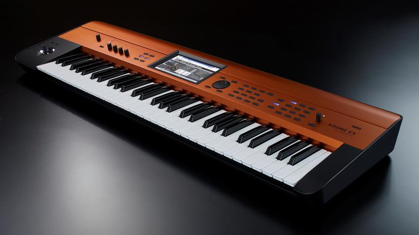 Streng limitierte Synthesizer Workstation: Der KORG KROME EX CU