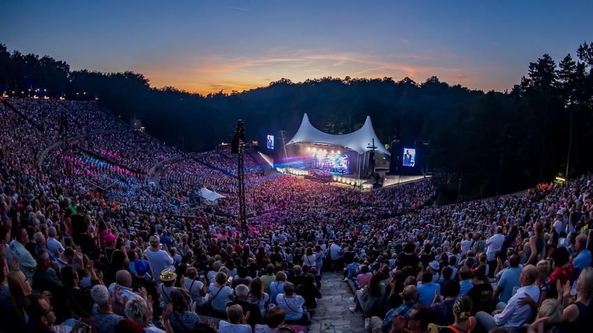 Back To Live-Konzerte: 18.000 Zuschauer auf der Waldbühne Berlin