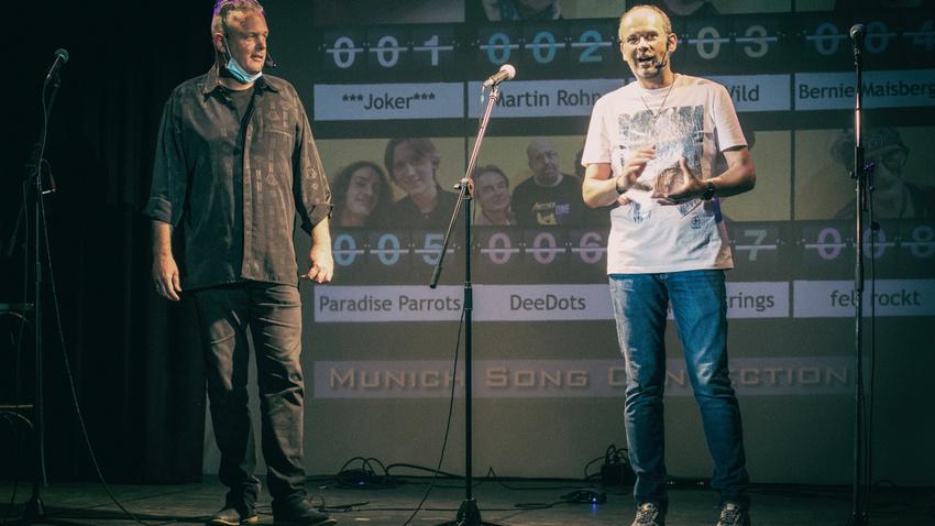 """Alex Sebastian über das Livestream-Veranstaltungskonzept des """"Munich Song Connection Song Slams"""""""